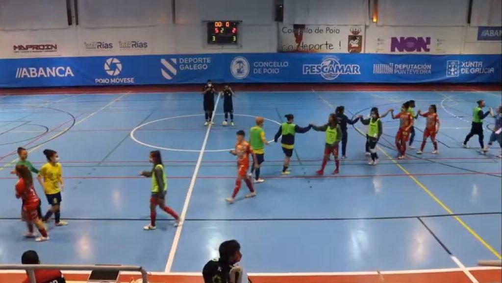 Poio Pescamar vs Teldeportivo / YOUTUBE POIO