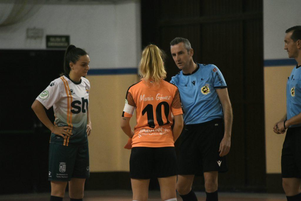 María Gómez, Viaxes Amarelle vs Roldán FSF / VIAXES AMARELLE
