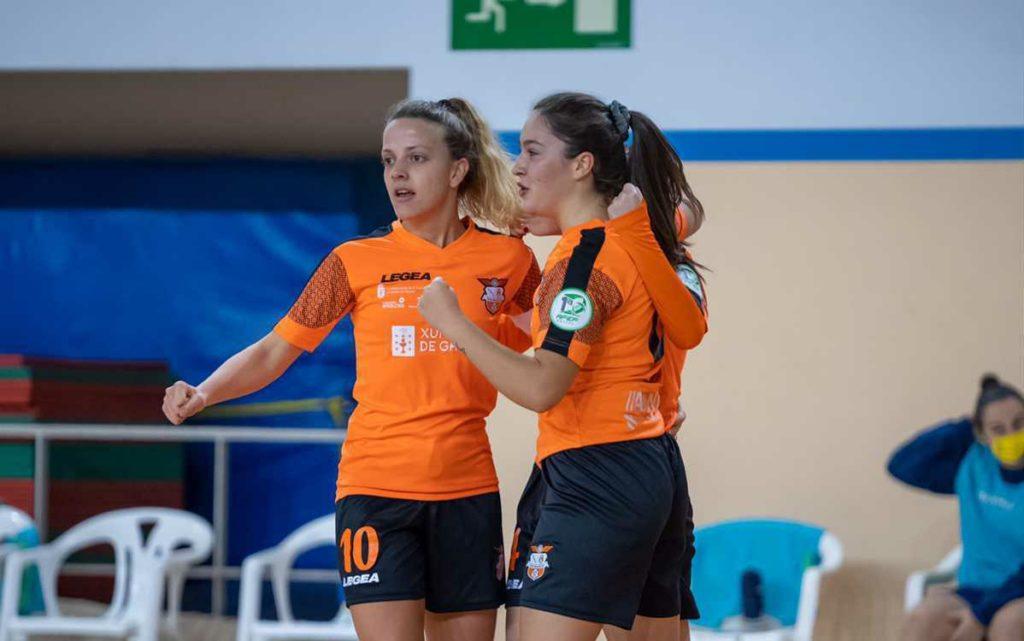 Viaxes Amarelle FSF vs Gran Canaria FSF Teldeportivo / MANU BOUTUREIRA