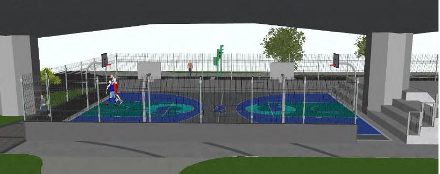 Proxéctase un skatepark e unha pista multideporte na praza de José Toubes Pego en Catro Camiños / CONCELLO DA CORUÑA
