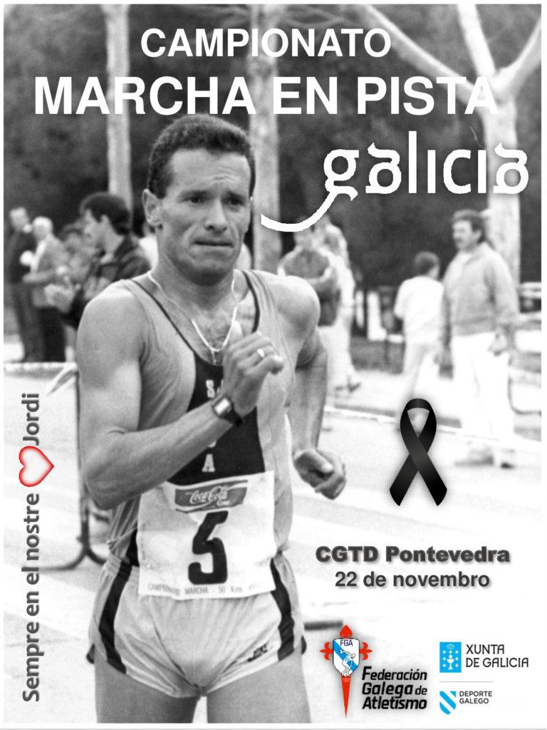 Cartel Campionato Galego de Marcha 2020 / FGA