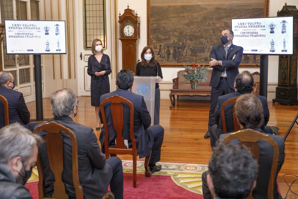 Presentación do LXXV Trofeo Teresa Herrera / CONCELLO DA CORUÑA
