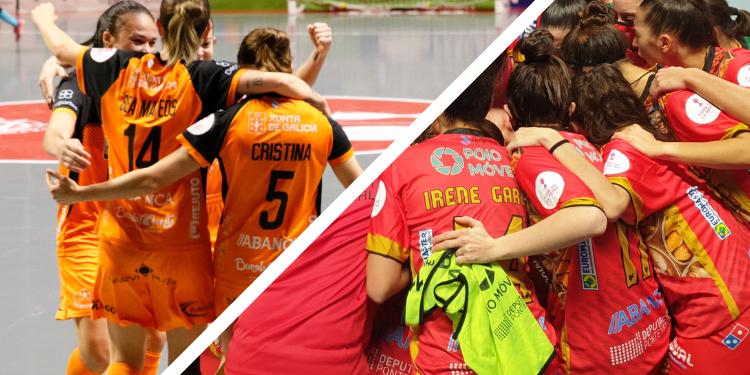Burela e Poio enfrontáronse na Final da Copa da Raíña / BURELA e POIO