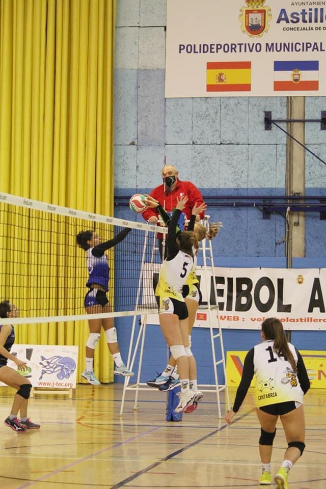 CD Voleibol Astillero vs Calasancias Coruña / CV CALASANCIAS