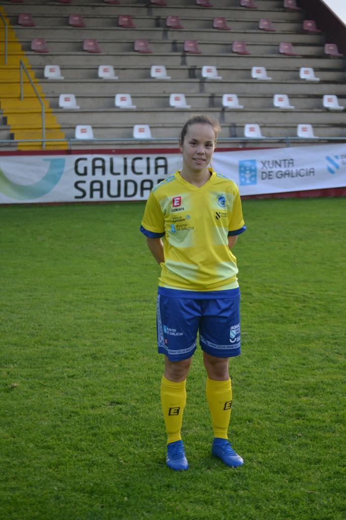 Eva Regueira, do Atlético Arousana / ATLÉTICO AROUSANA