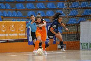 Ale de Paz, xogadora do Burela / BURELA FS