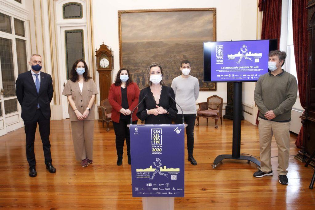 Presentación San Silvestre A Coruña, Mónica Martínez / CONCELLO DA CORUÑA