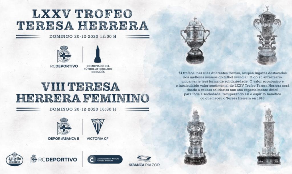 Cartel do LXXV Trofeo Teresa Herrera / CONCELLO DA CORUÑA