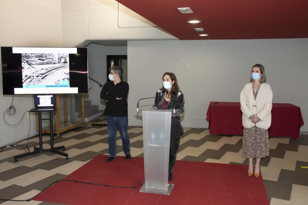 fotográfica con motivo do 50 aniversario do Pazo dos Deportes en Riazor / CONCELLO DA CORUÑA