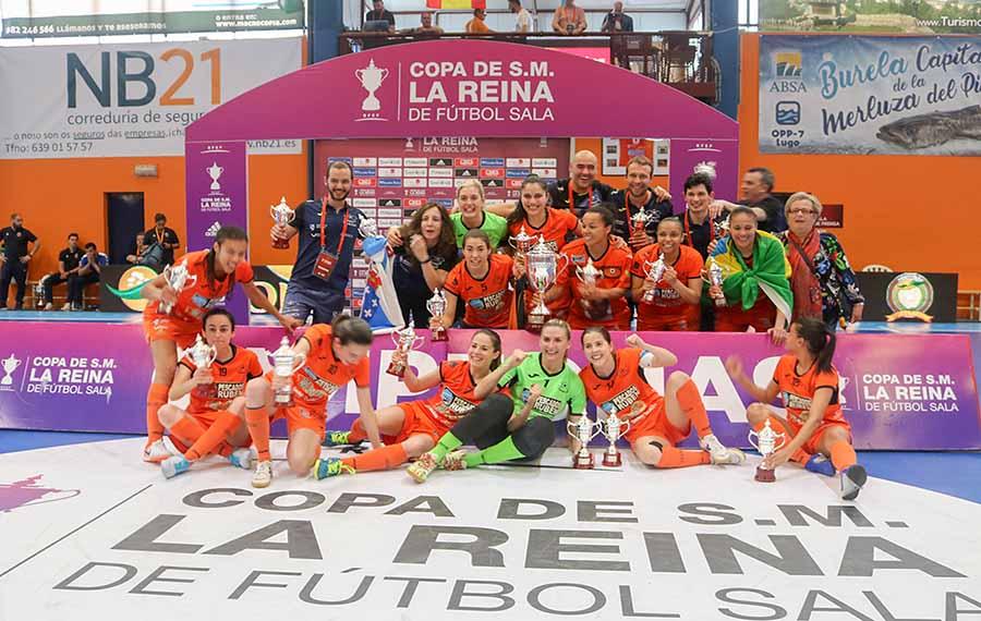 Copa da Raíña RFEF / BURELA FS