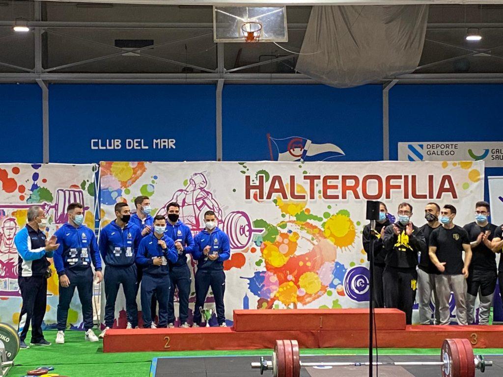 CH Coruña, prata na Copa do Rei de Halterofilia / CH CORUÑA