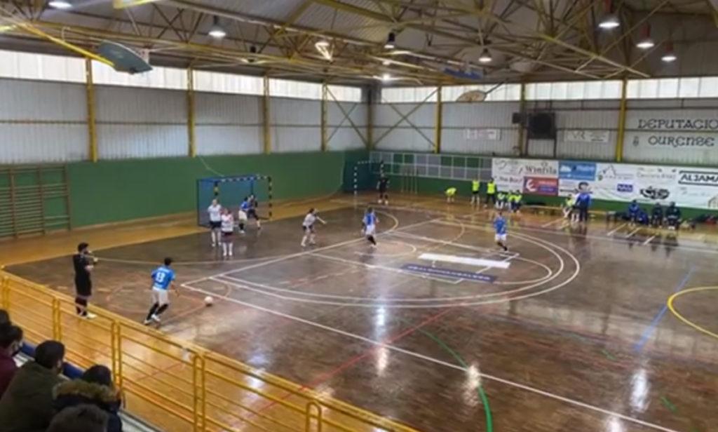 Ourense Envialia vs Penya Esplugues / YOUTUBE OURENSE ENVIALIA