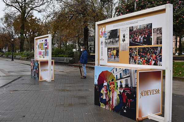 Exposición fotográfica sobre a San Silvestre de Pontevedra / ÁNGELA F. SOBRAL