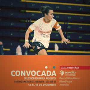 Jenny Lores, do Ourense Envialia, convocada coa Selección Española / OURENSE ENVIALIA FS