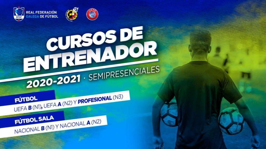 Adestradoras/es cursos fútbol e fútbol sala