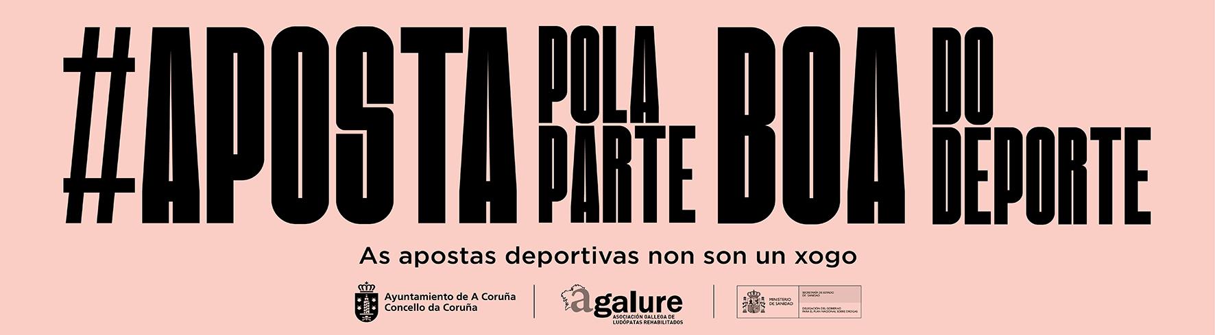 Publicidade - Concello de A Coruña - Estamos co Deporte