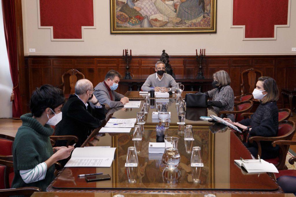 Xuntanza da Comisión de Deportes / CONCELLO DA CORUÑA
