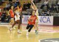Carlos Cantero puido dar minutos a xogadoras moi novas como Maite Franco / ENSINO LUGO
