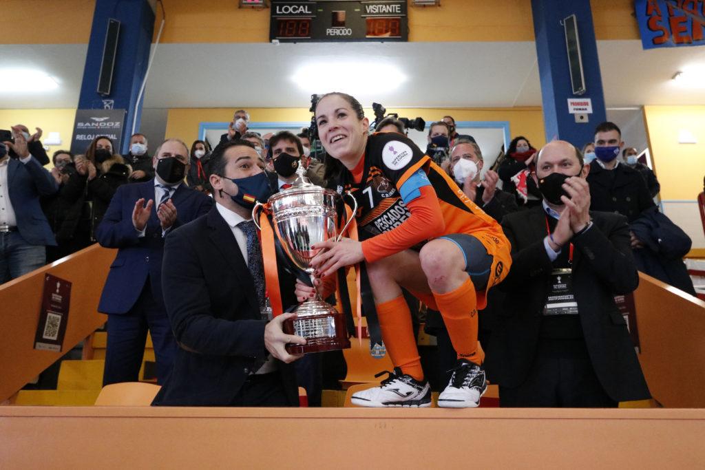 Supercopa de fútbol Sala feminino para o Burela / PRBFS