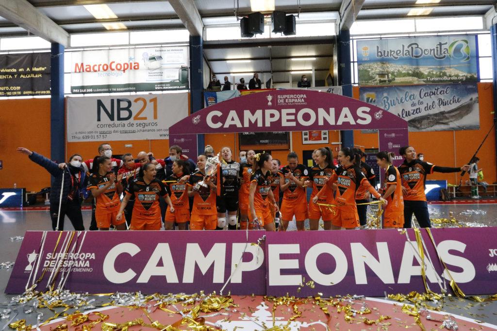 O Burela, campión da Supercopa de España de fútbol Sala feminino / PRBFS