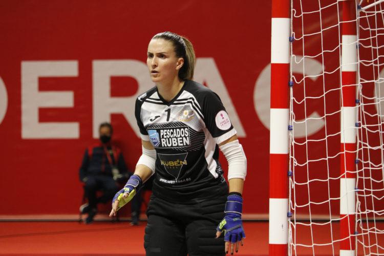 Jozi na final Copa da Raíña entre Burela e Poio / PRBFS