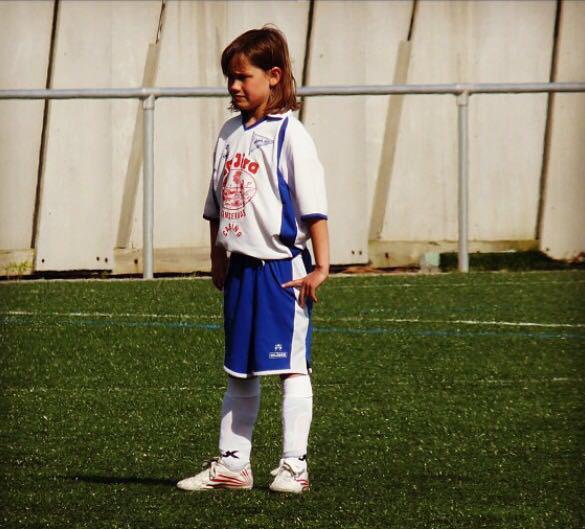 María Corral, futbolista