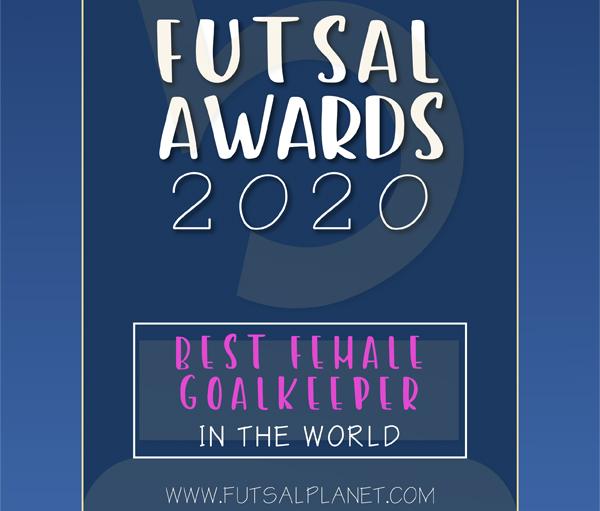 Premio á mellor porteira de fútbol sala feminino do mundo / FUTSAL PLANET