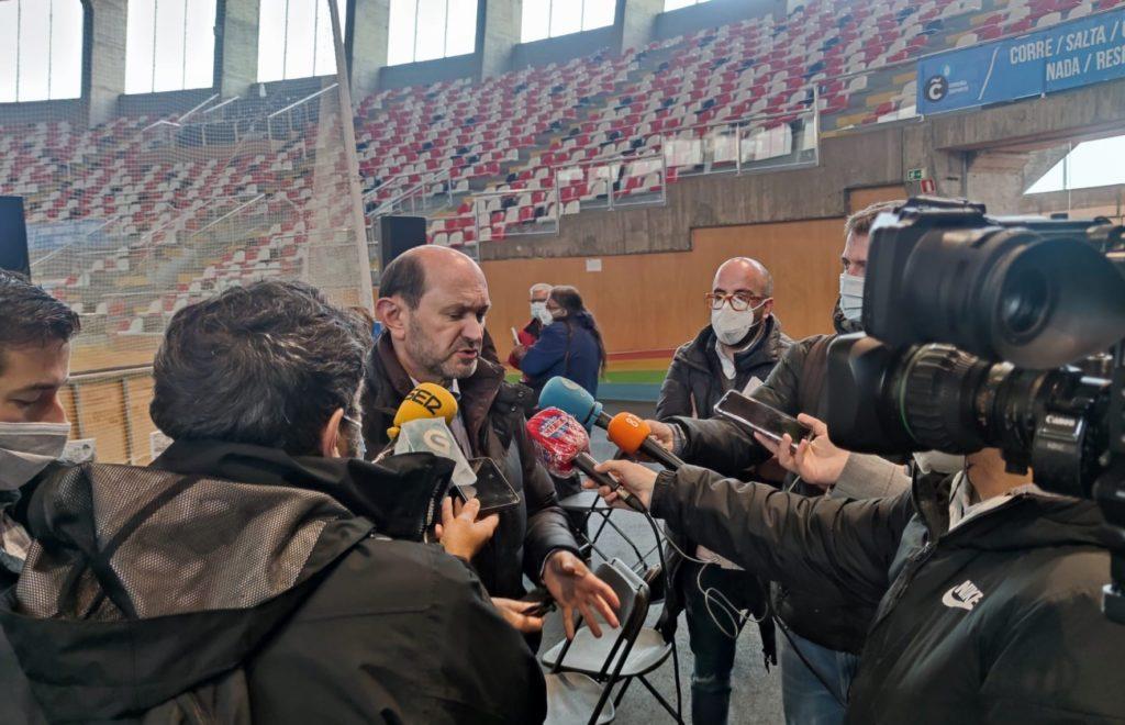Rafael Louzán, presidente da RFGF / SABELA MOSCOSO