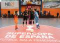 Final da Supercopa de fútbol Sala feminino entre Burela e Poio / PRBFS