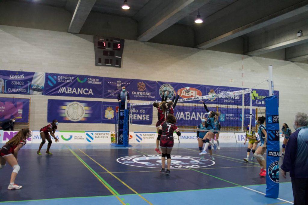 Aceites Abril CVO vs D´Elhuyar / CLUB VOLEI OURENSE