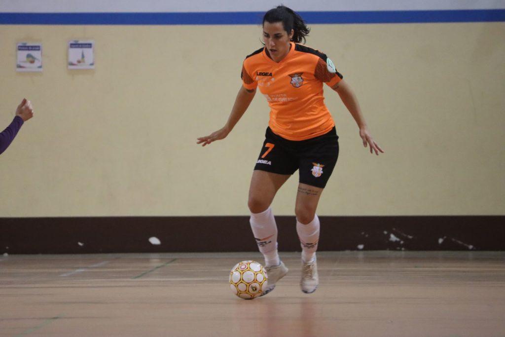 Patri Corral, futbolista do Viaxes Amarelle / VIAXES AMARELLE FSF