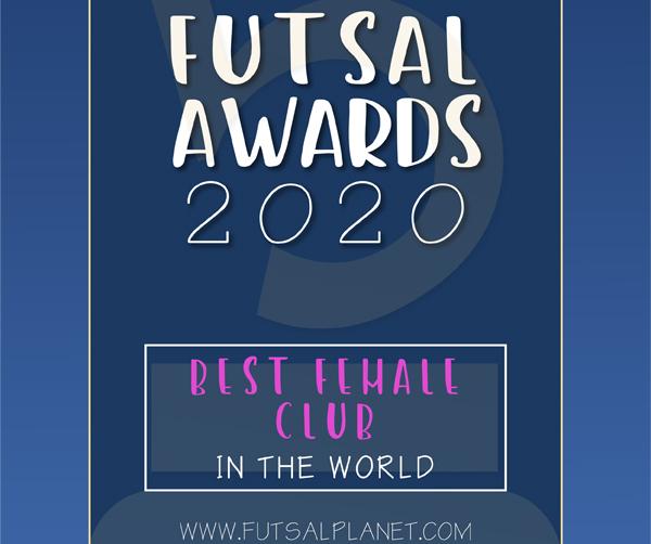 Premio ao mellor club de fútbol sala feminino do mundo / FUTSAL PLANET