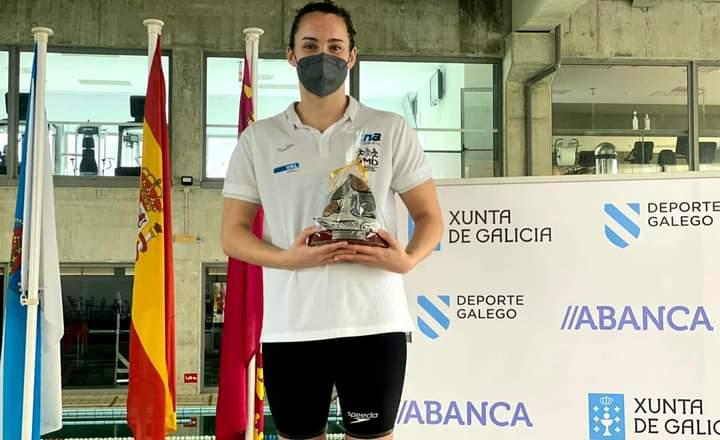 Paula Otero, Trofeo Paula Carballido á mellor nadadora por táboa FINA pola proba de 800 libre / CN ARTEIXO