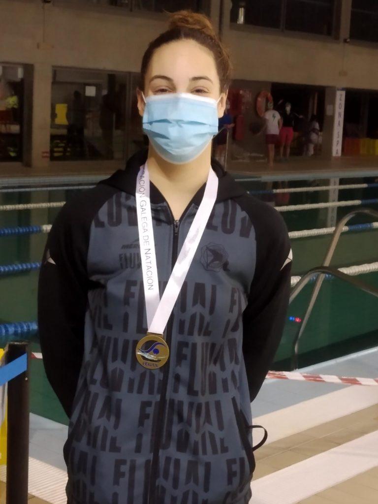 Ana Cernadas González, nadadora do Club Fluvial de Lugo / FEGAN