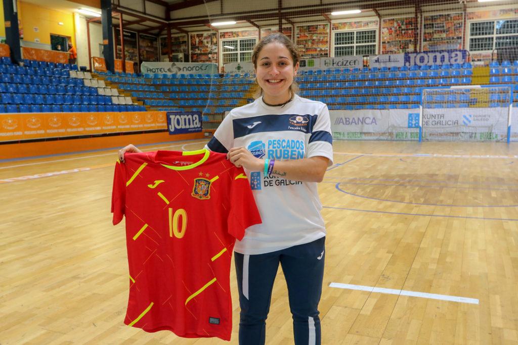 Ale Paz, coa Selección Española / PRBFS