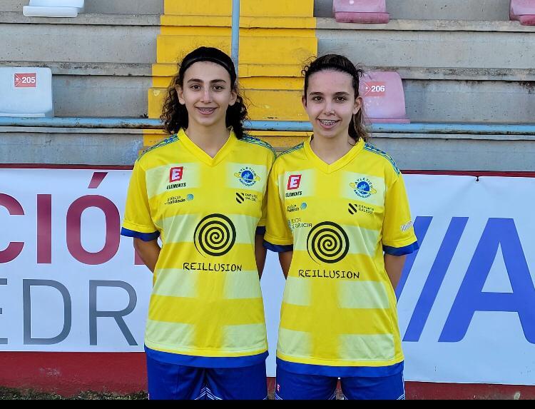 As irmás Laura e Iria Otero, novas fichaxes do Atlético Arousana / ATLÉTICO AROUSANA