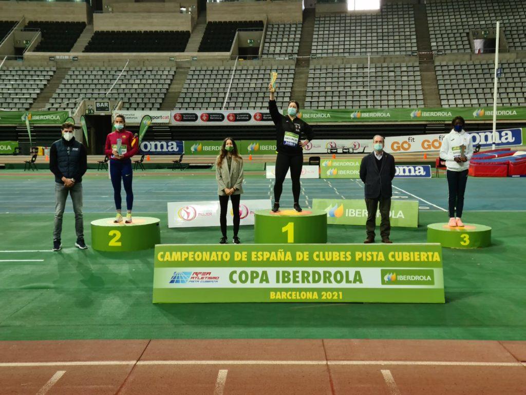Belen Toimil, vence no Campionato de España de Clubs Copa Iberdrola 2021 RFEA