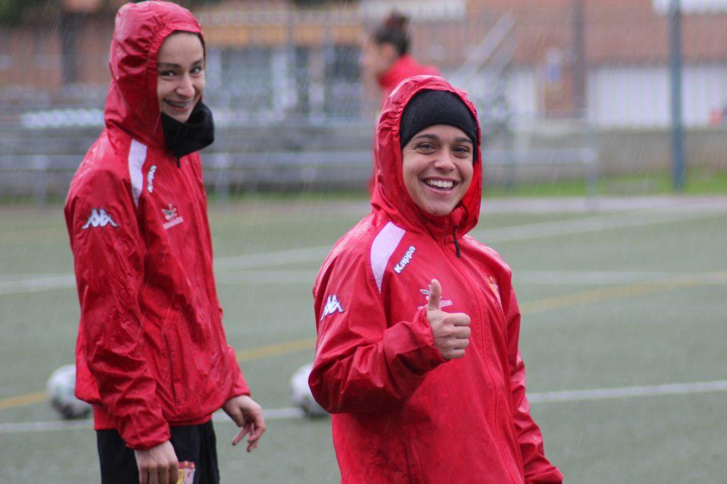 Xogadoras do Civitas Santa Teresa Badajoz nun adestramento / CD SANTA TERESA