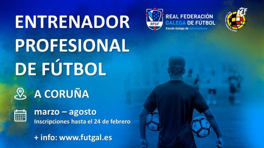 Curso de Adestrador Profesional A Escola de Adestradores coruña / RFGF
