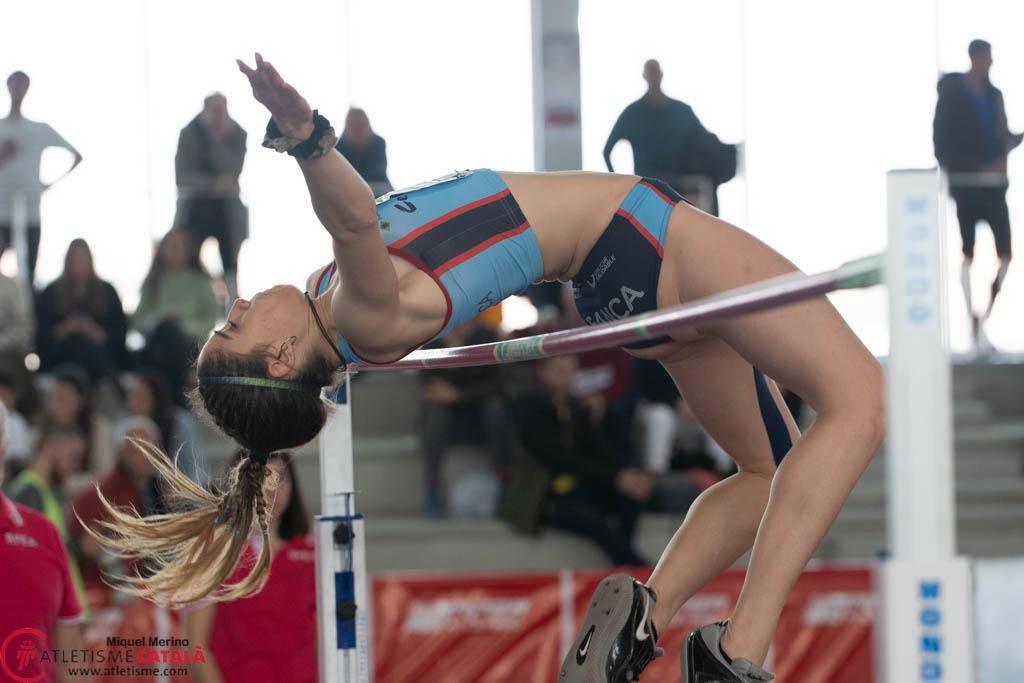 Eva Queimaño será unha das atletas galegas no nacional sub23 / CELTA ATLETISMO
