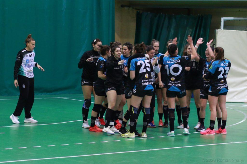 Partido de ida da EHF European Cup entre HC Galychanka e At. Guardés / ROMAN SHARI LEÓPOLIS UCRANIA