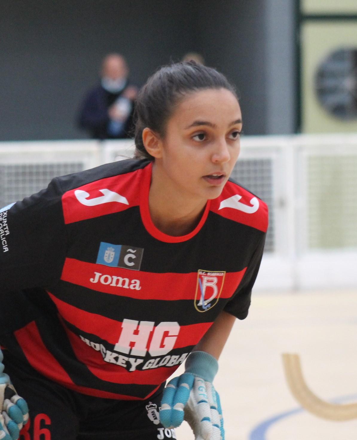 ok liga prata Lucía Yáñez, HC Borbolla / SABELA MOSCOSO