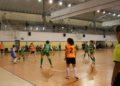 Gol do empate do Viaxes Amarelle vs Cidade de As Burgas 2-2 / SABELA MOSCOSO