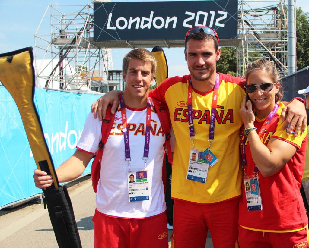 Teresa Portela nos Xogos Olímpicos de Londres / RFEP