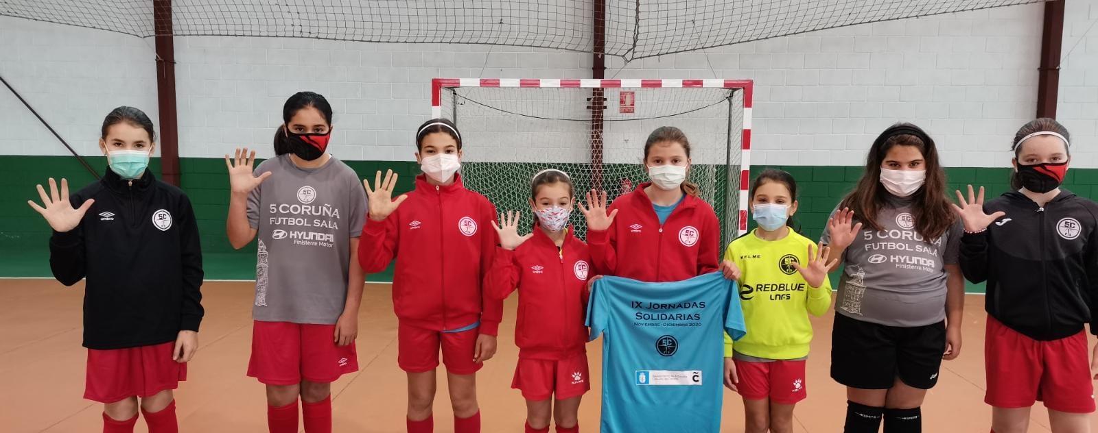 O Academia Red Blue 5 Coruña organiza a primeira concentración do ano en categoría alevín / 5 CORUÑA