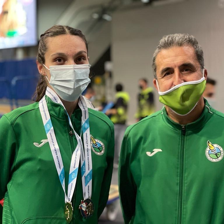 Ainhoa Reparaz, do Val Miñor, é unha das atletas galegas que competirán no sub18 / VAL MIÑOR IG