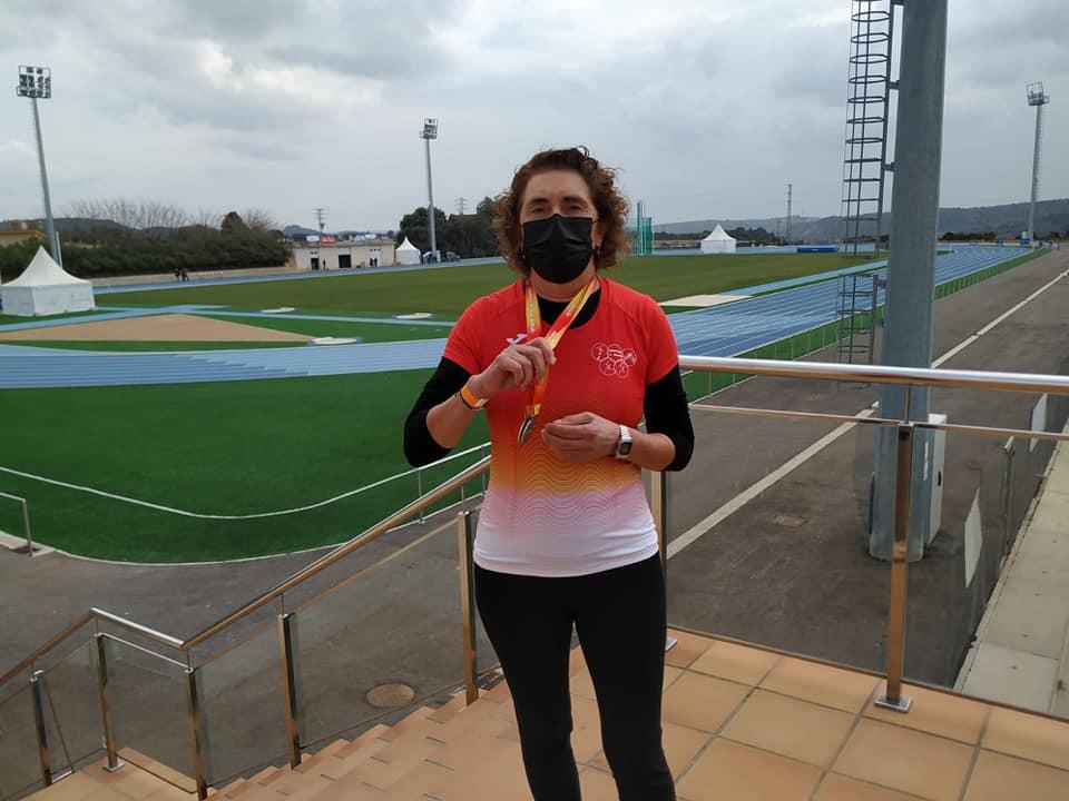 Ana Abuin, atleta galega da Atlética A Silva / ATLÉTICA A SILVA
