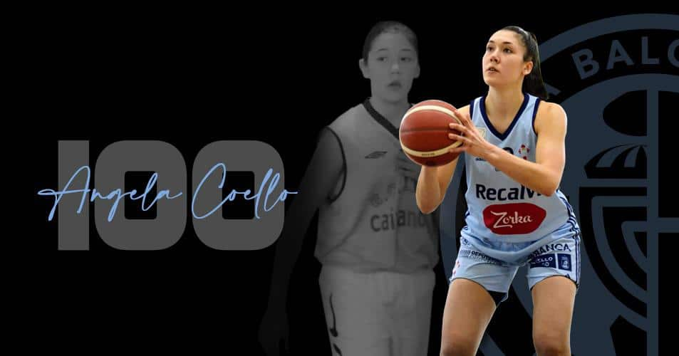 As 100 vitorias celestes de Angela Coello / CELTA BALONCESTO