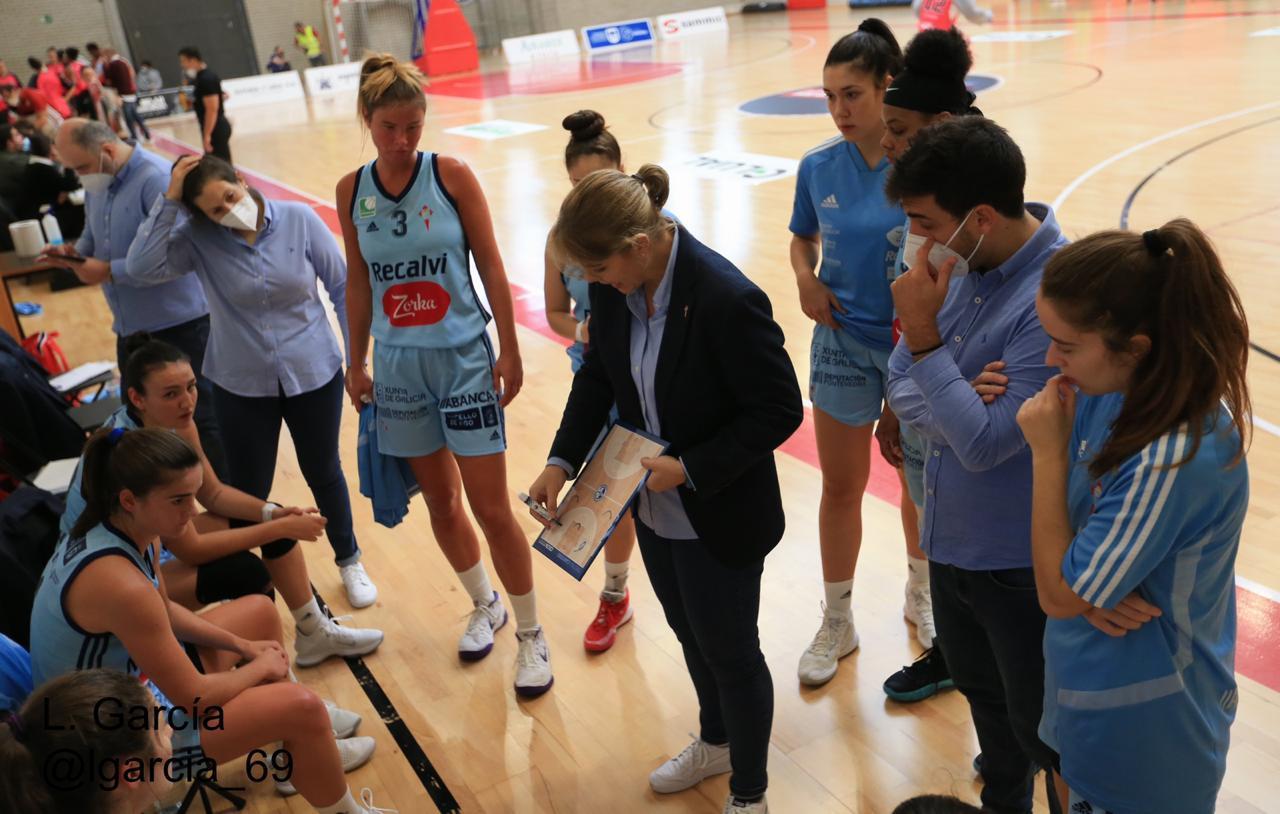 Cristina Cantero, adestradora do Celta Zorka Recalvi / CEDIDA