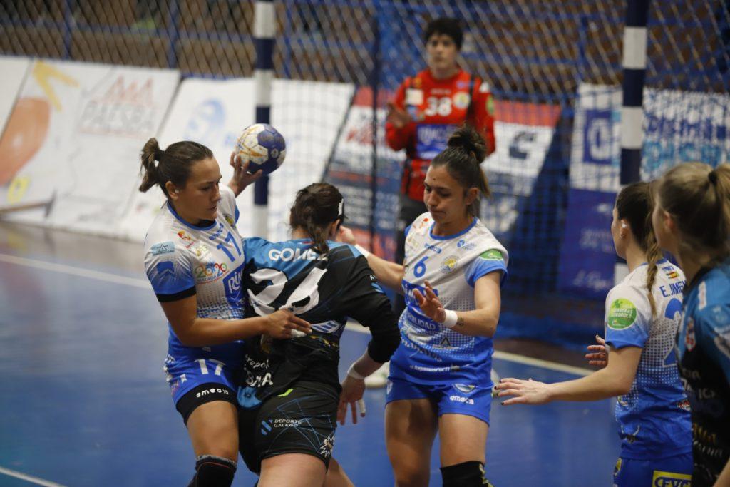 Carla Gómez do At. Guardés ante o Rincón Fertilidad Málaga / © SPORCOECO